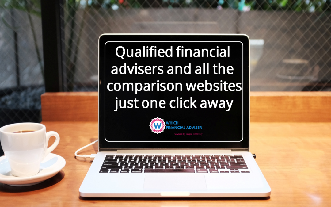 Who should you approach for big financial decisions- a comparison website or a qualified adviser?